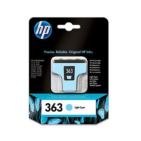 hp 363 light cyan ink cartridge bl