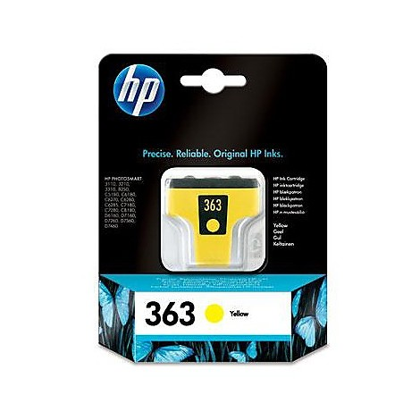 hp 363 yellow ink cartridge bl