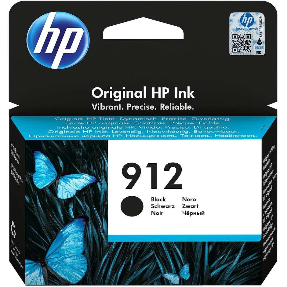 hp 912 black original ink blister