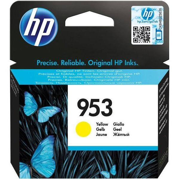 hp 953 yellow original ink cartridg