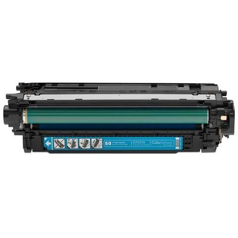hp color laserjet cf031a cyan