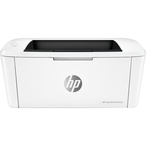 HP M15W W2G51A  Stampante laserjet pro A4 Risoluzione 600 x 600 Wi-Fi Colore Bianco