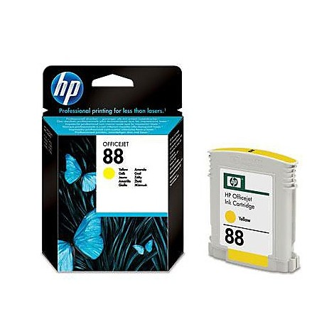 hp n88 giallo cart  ink 9 ml