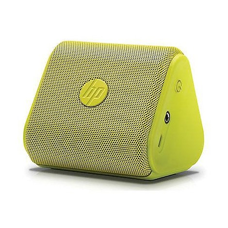 hp roar mini bt green speakerr