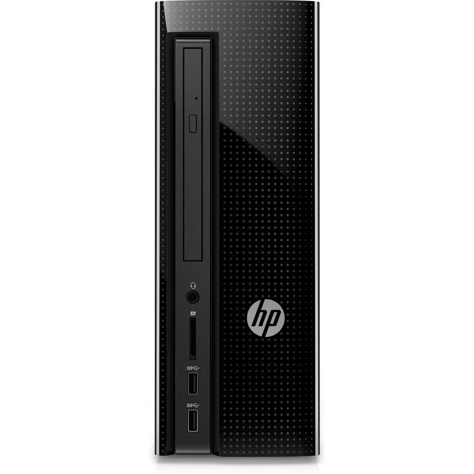 HP Slimline 260-A129NL Tower AMD A8-7410 RAM 8 GB HDD 1 TB Windows 10 colore Nero