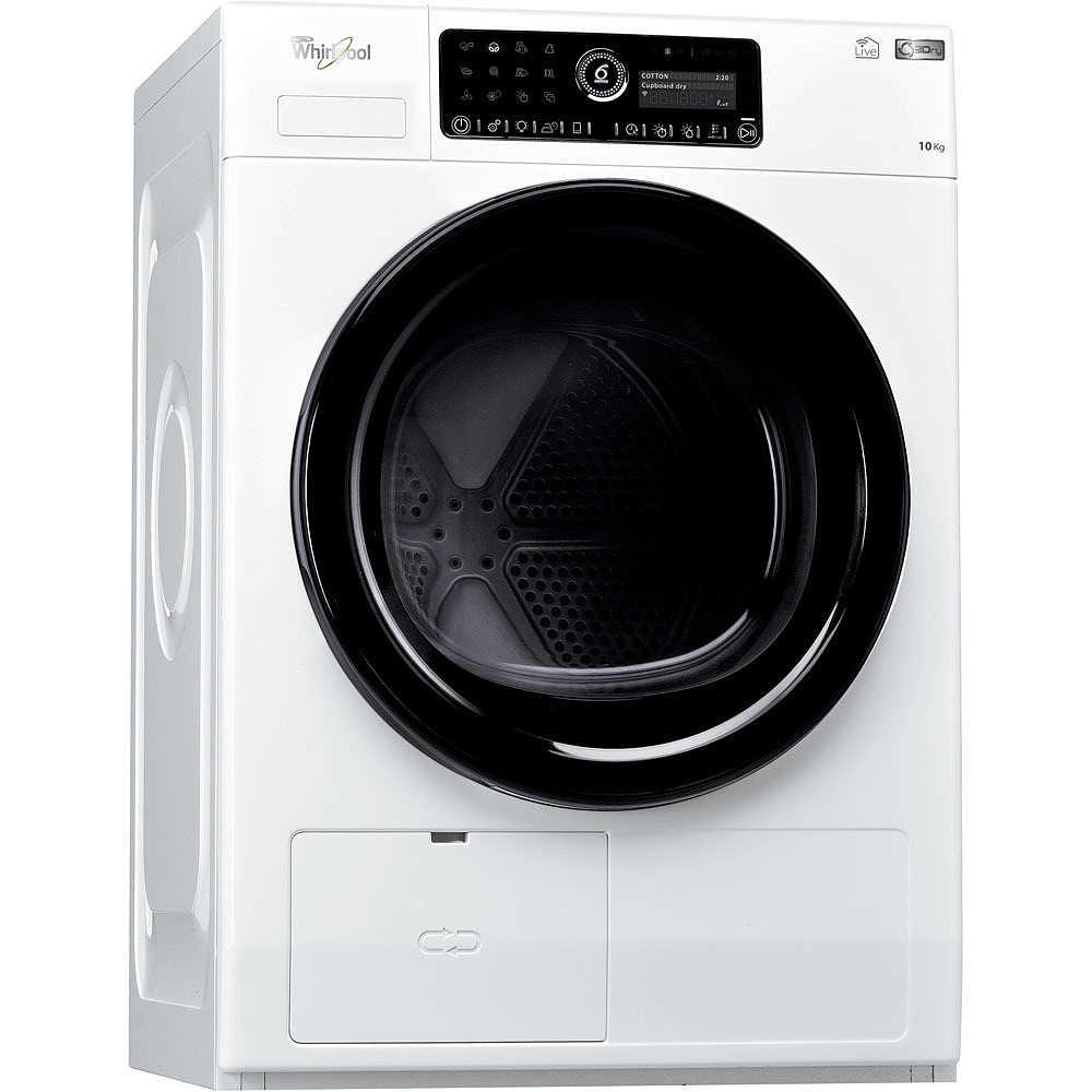HSCX 10441 Whirlpool Asciugatrice A Condensazione Con Pompa Di Calore 10 Kg  Classe A++ Bianco