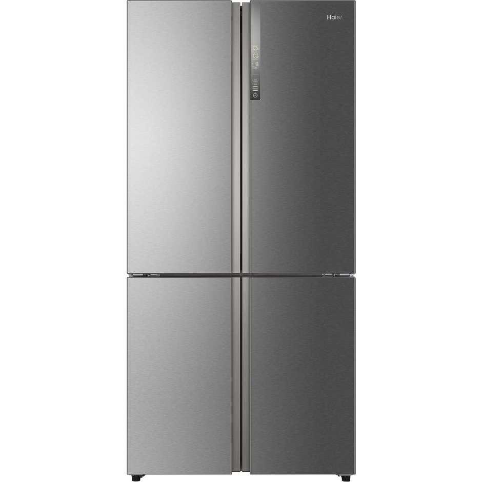 HTF-456DM6 Haier frigorifero Side by Side 456 litri classe A+ Total No Frost inox