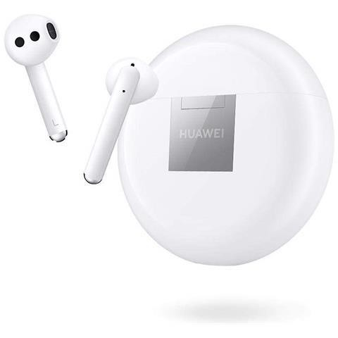 Huawei FreeBuds 3 cuffie wireless con custodia di ricarica colore bianco