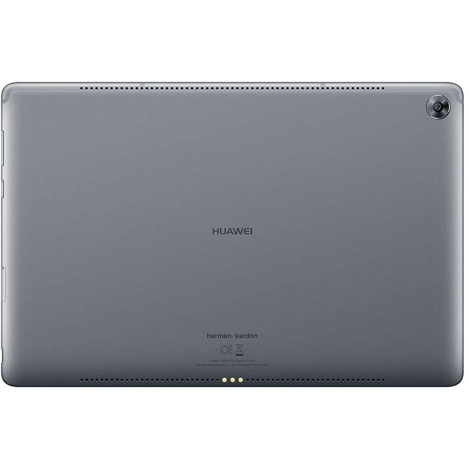 "Huawei MediaPad M5 Lite Tablet 10,1"" memoria 32 GB Ram 3 GB Wifi 4G-LTE Android colore Space Gray"