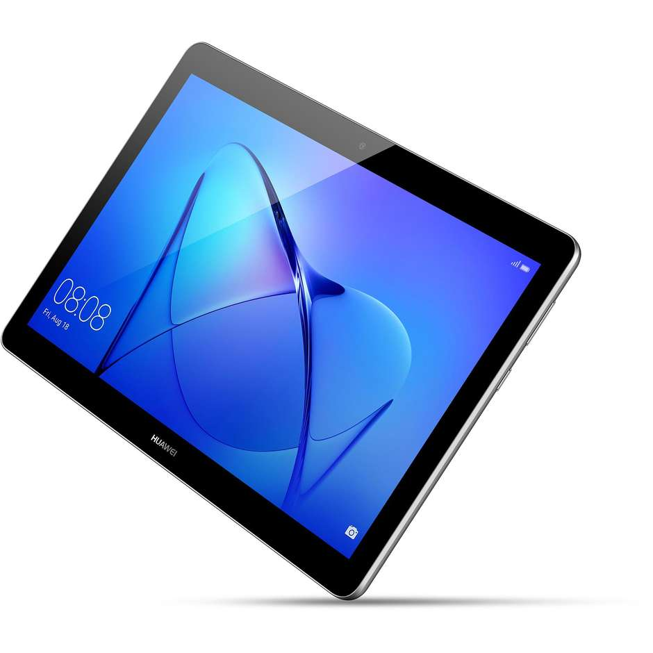 "Huawei MediaPad T3 10 LTE Tablet 10"" memoria 16 GB Ram 2 GB Wifi 4G Lte colore Grigio"
