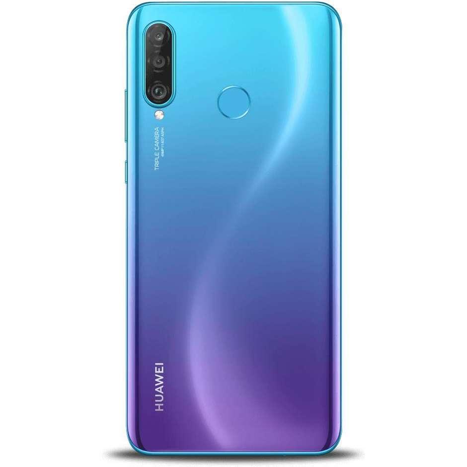 """Huawei P30 Lite Smartphone Vodafone 6.15"""" FHD Ram 4 GB memoria 128 GB EMUI 9.0 colore blu"""
