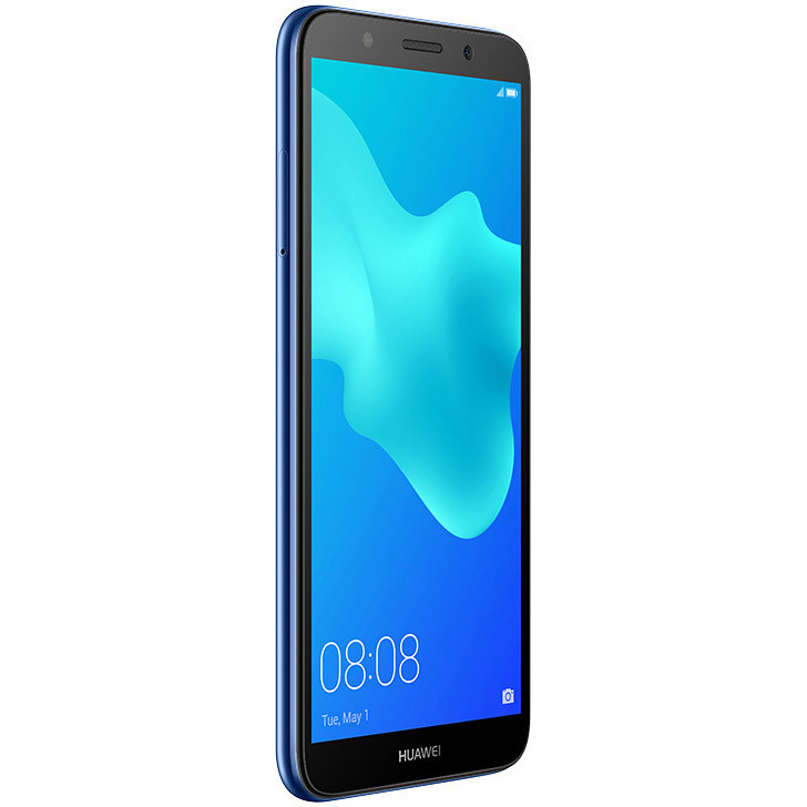 "Huawei Tim Italia Y5 2018 Smartphone 5,45"" HD memoria 16 GB Fotocamera 8 MP Android colore Blu 774966"