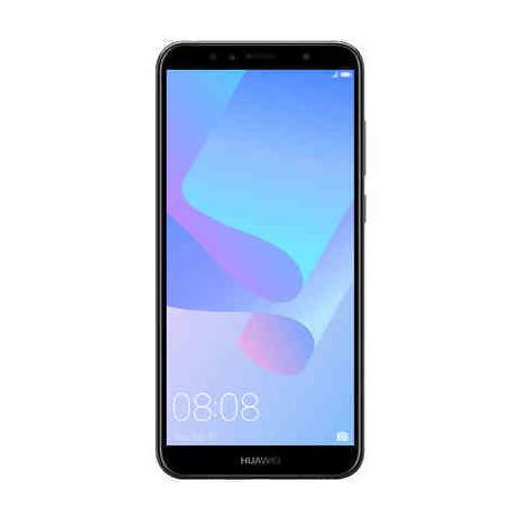 "Huawei Y6 2018 TIM Smartphone 5,7"" HD+ memoria 16 GB Fotocamera 13 MP Android 8.0 colore Nero 774796"
