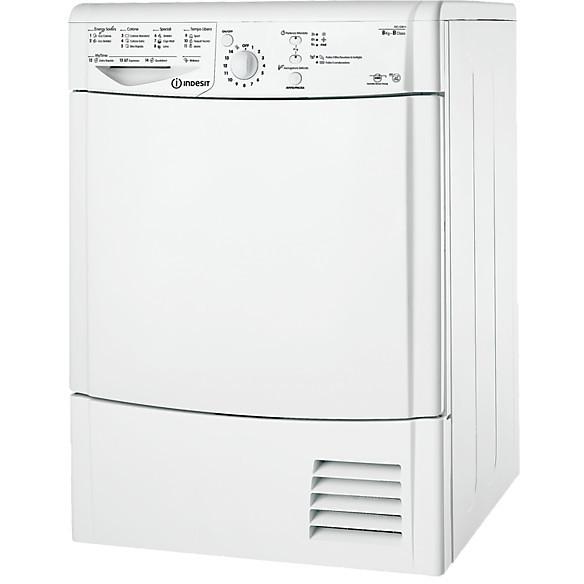 idcl-g5 b h (it) indesit asciugatrice classe b 8 kg a condensazione