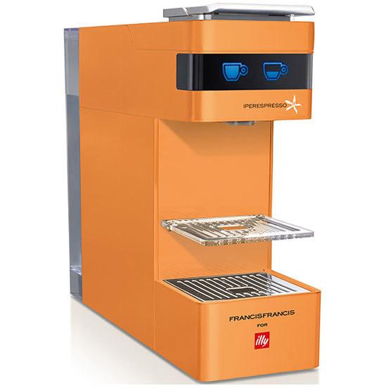 Illy Y3 Macchina del caffè con sistema capsule Capacità 0.75 L colore Arancione