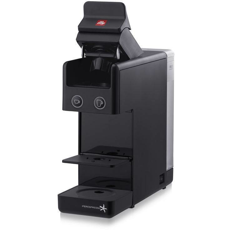 Illy Y3 Macchina del caffè con sistema capsule Capacità 0.75 L colore Nero