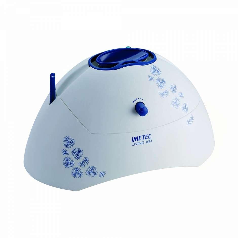Imetec 5401 Living Air HU-200 umidificatore 700 Watt capacità 400 ml colore bianco e blu