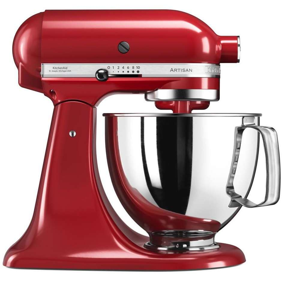 Impastatrice KitchenAid 5KSM125EER artisan 4.8 litri empire red