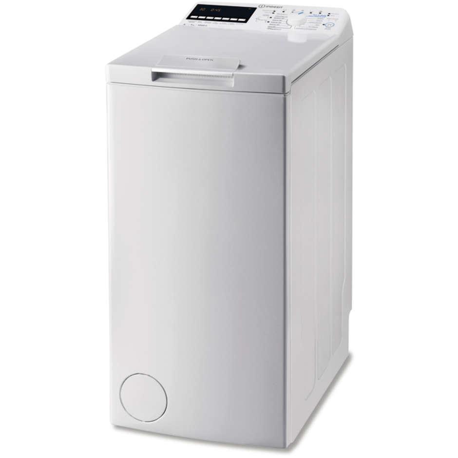 Indesit BTW E71253P (IT) lavatrice carica dall'alto 7 Kg 1200 giri classe A+++ colore bianco