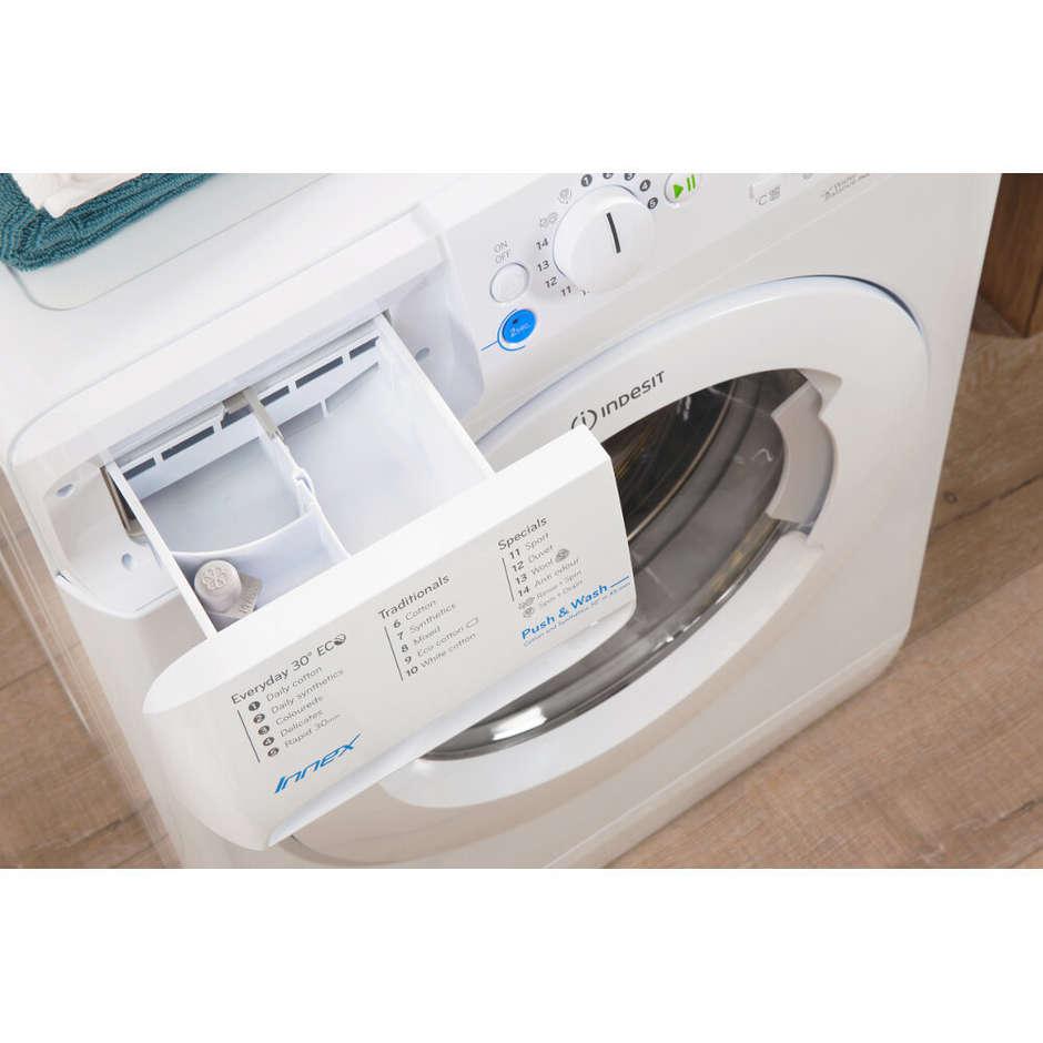 Indesit BWA 81283X W EU lavatrice carica frontale 8 Kg 1200 giri classe A+++ colore bianco