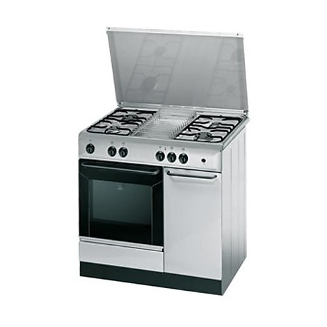 indesit cucina k9g21s(x)/i s 4 fuochi a gas forno elettrico ... - Cucina 4 Fuochi Forno Elettrico