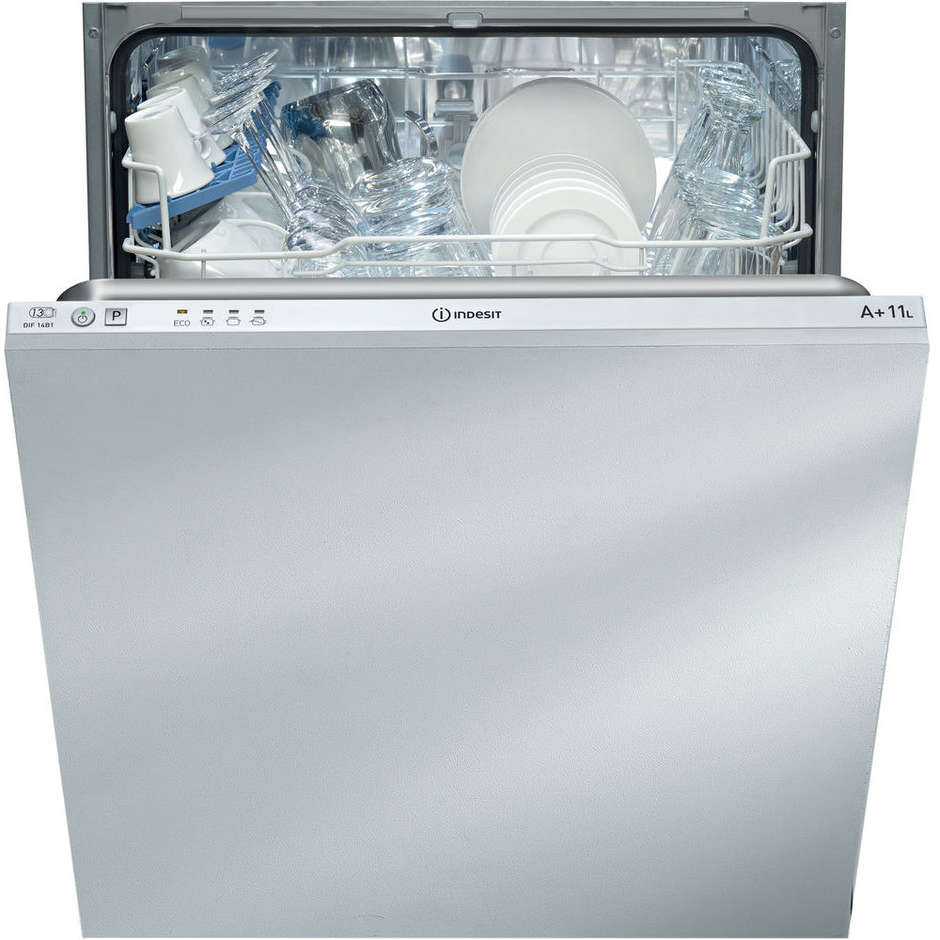 Indesit DIF14B1EU lavastoviglie a scomparsa totale 13 coperti 4 programmi classe A+