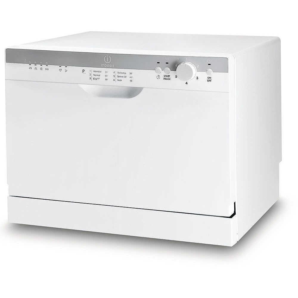 Indesit icd 661 eu lavastoviglie compatta 6 coperti 7 for Lavastoviglie 9 coperti