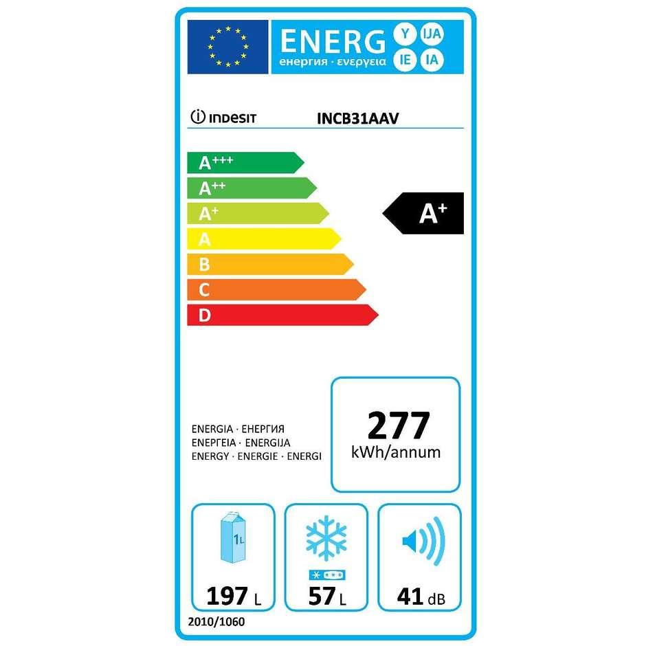 Indesit IN CB 31 AA V frigorifero combinato da incasso 254 litri classe A+