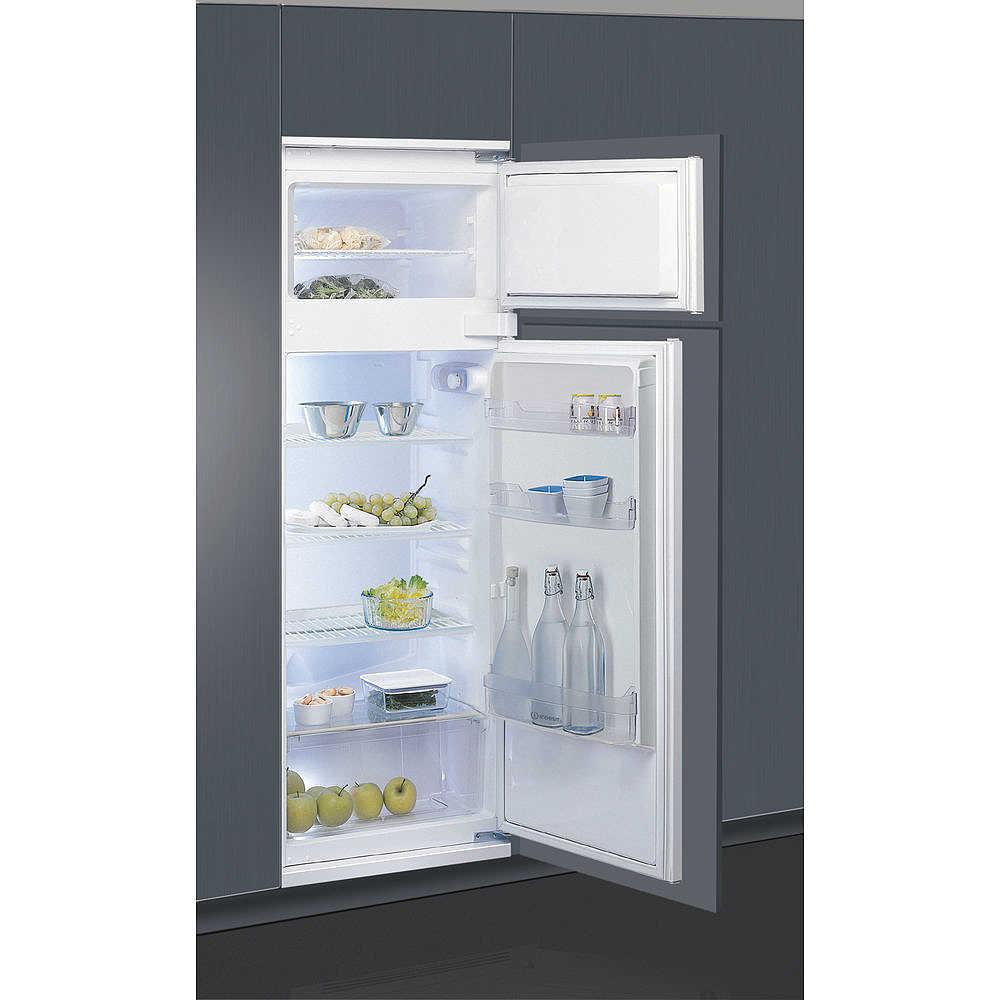 Indesit in d 2412 frigorifero doppia porta da incasso 220 litri classe a frigo e congelatori - Frigoriferi doppia porta classe a ...