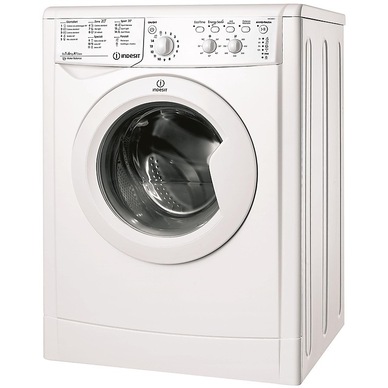 Indesit IWC 60851 C ECO IT lavatrice carica frontale 6 Kg 800 giri classe A+ colore bianco