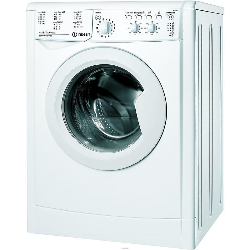 Indesit IWC 71252 C ECO EU lavatrice carica frontale 7 Kg 1200 giri classe A++ colore bianco