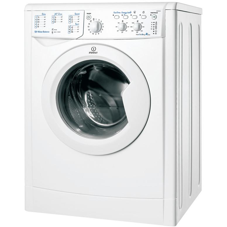 Indesit IWC 81051 C ECO EU.M lavatrice carica frontale 8 Kg 1000 giri classe A+ colore bianco