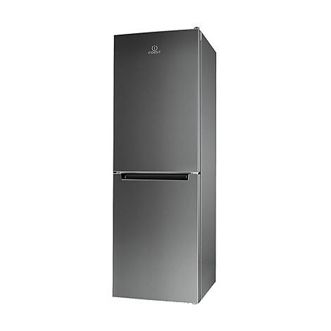 Indesit LI70 FF1 X frigorifero combinato classe A+ 274 litri ventilato inox