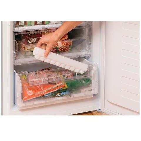 Indesit NCAA 55 NX frigorifero combinato 206 litri classe A+ statico inox