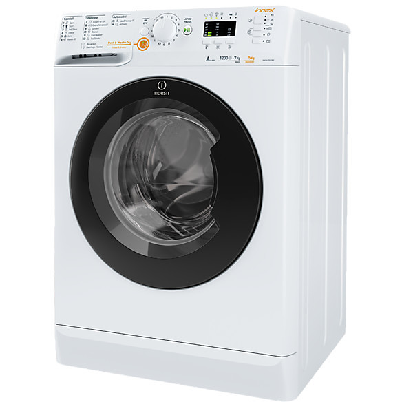 Indesit XWDA 751280X lavasciuga 7+5 Kg 1200 giri classe A colore bianco