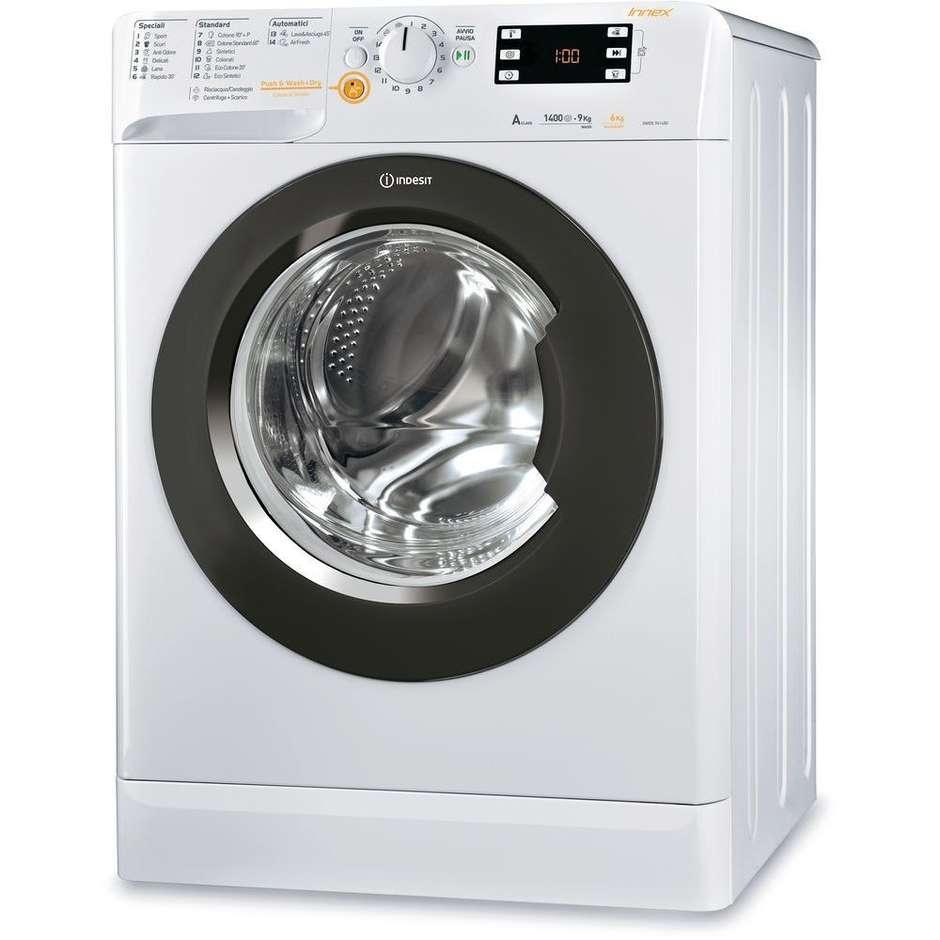 Indesit XWDE 961480X lavasciuga 9+6 Kg 1400 giri classe A colore bianco