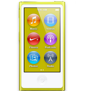APPLE ipod nano 16 gb - giallo