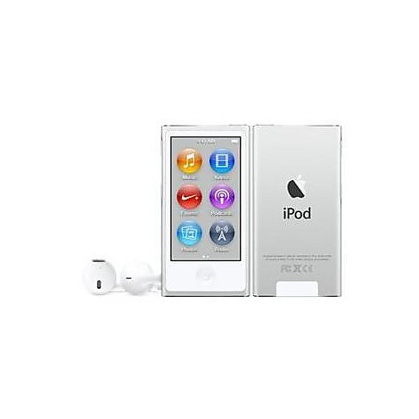 ipod nano 16gb white silver