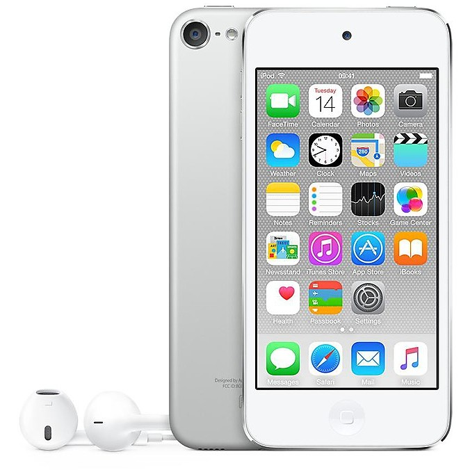 ipod touch 32gb white silver MKHX2BT/A