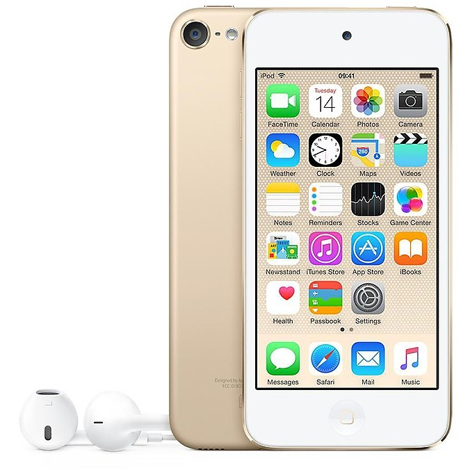 Ipod touch 64gb gold MKHC2BT/A
