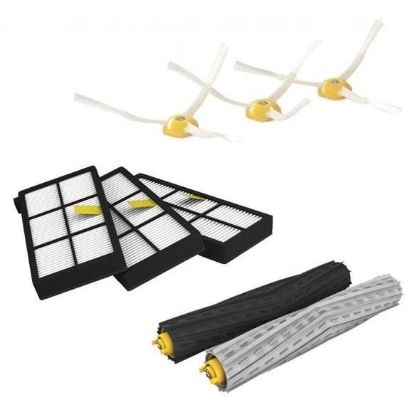 iRobot 820303 Kit accessori pulizia per AeroForce 800 Series 3 filtri, 5 spazzole