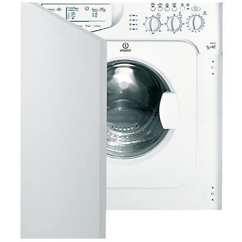 iwde-127 (eu) indesit lavasciuga da incasso lavaggio 7kg asciugatura 5kg 1200 giri/min