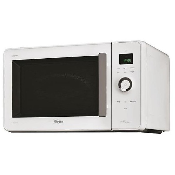 Jq280wh whirlpool forno a microonde 30lt 1000w grill 1000w bianco cottura forni microonde - Whirlpool forno a microonde ...