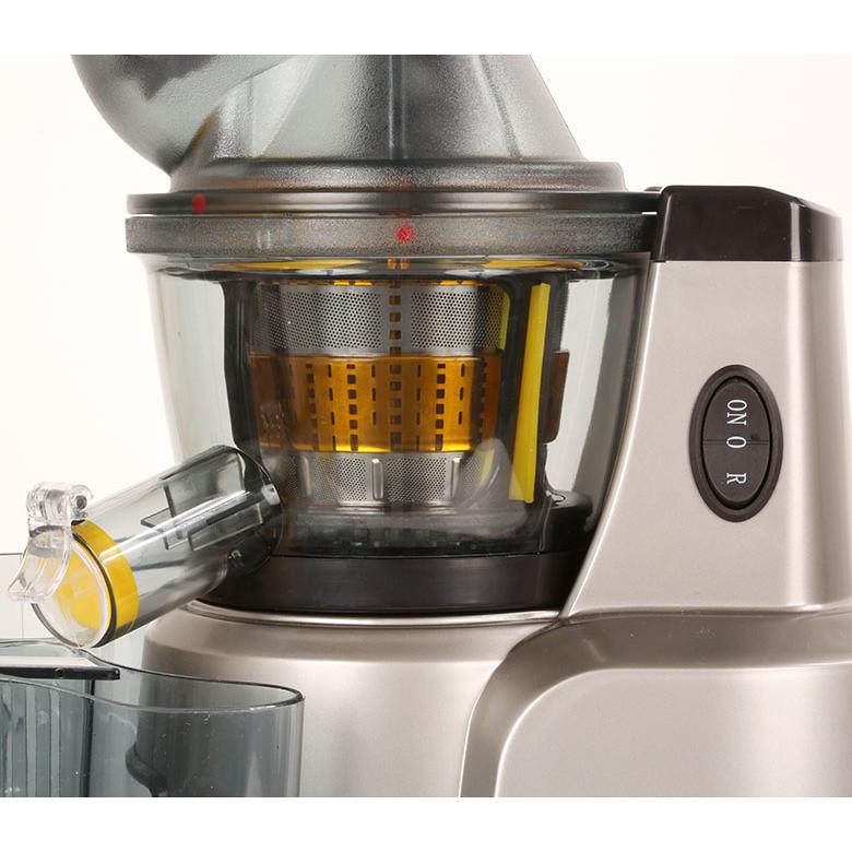 juice art muscle rgv estrattore a freddo slowjuicer 230w 1lt inox -50 giri