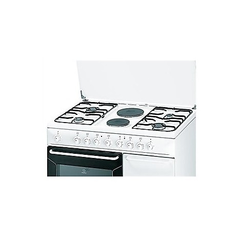k9b11sbwi indesit cucina 90cm 4 fuochi a gas + forno elettrico 52 ... - Cucine A Gas Indesit