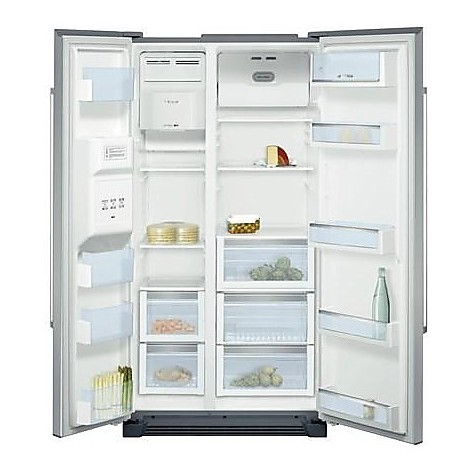 kan-58a75 bosch frigorifero classe a+ 531 litri no frost inox