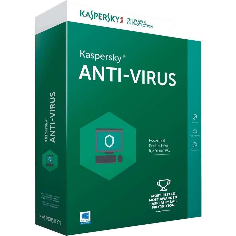 Kaspersky 1171T5AFS8  antivirus total security 1 anno di licenza colore verde