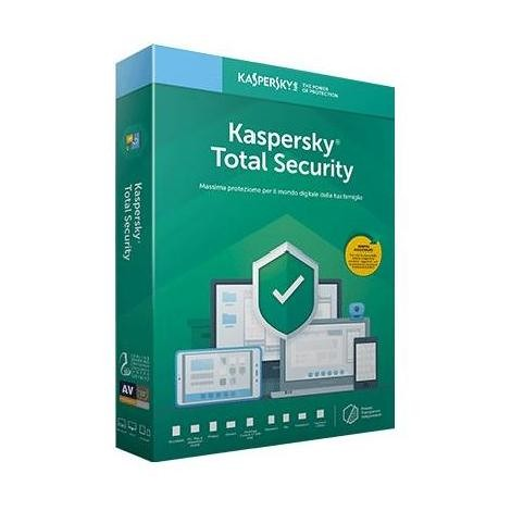 Kaspersky Lab Total Security 2019 Licenza completa 2 licenze 1 anno ITA