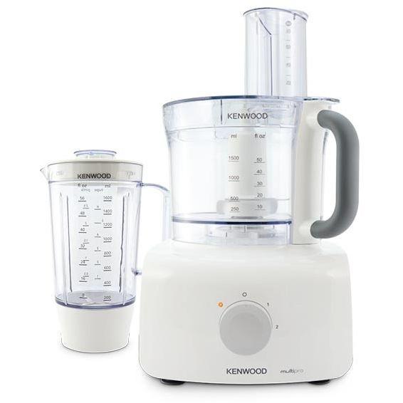 Kenwood FDP645WH Multipro Home robot da cucina 1000 Watt 3 litri 2 velocità colore bianco