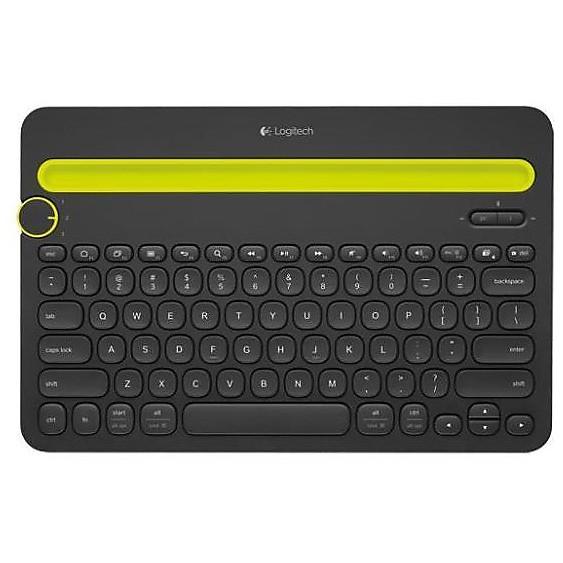 keyboard wireless k480 black